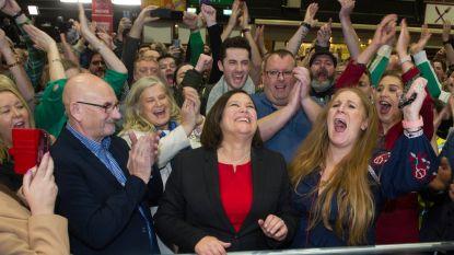 Sinn Fein droomt al hardop van coalitiegesprekken