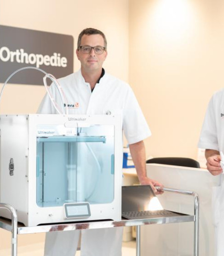 Bravis ziekenhuis zet 3D printer in om patiënten met botbreuken beter te informeren