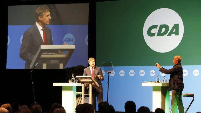 Het CDA-congres in Leeuwarden. Beeld ANP