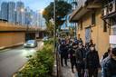 We volgen het coronavirus al vanaf het begin van de uitbraak in de Chinese stad Wuhan. Foto Anthony Wallace/ AFP