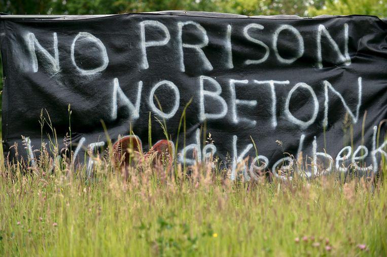Er is al jaren veel verzet tegen de komst van de gevangenis