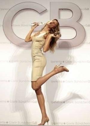 A 27 ans, Gisele Bündchen reste le mannequin le mieux payé avec un salaire de 35 millions de dollars par an.