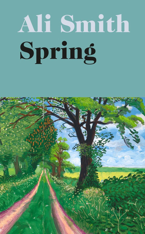 Ali Smith: Spring. Omslag David Hockney, Richard Bravery, 2019. Beeld Penguin/Hamish Hamilton