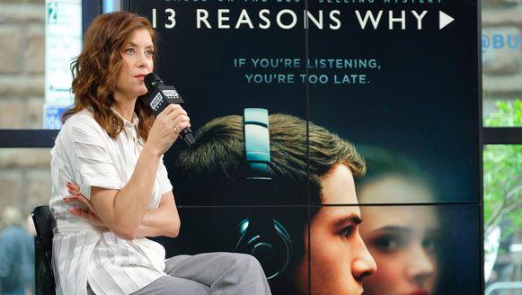 Actrice Kate Walsh speelt de moeder van Hannah Baker in de serie.