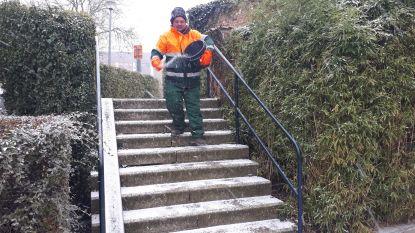 VIDEO : Eerste sneeuw bereikt Dendermonde