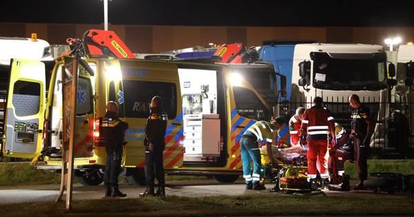 Motorrijder ernstig gewond na eenzijdig ongeval op de Corridor in Veghel.