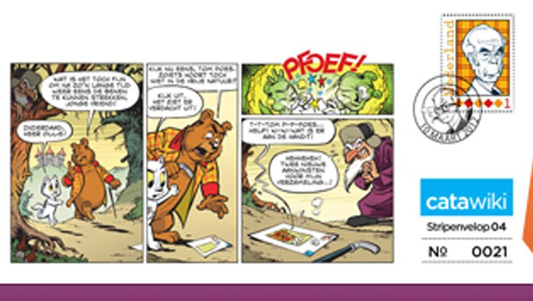 De nieuwe stripstrook van Olivier B. Bommel en Tom Poes © Catawiki Beeld