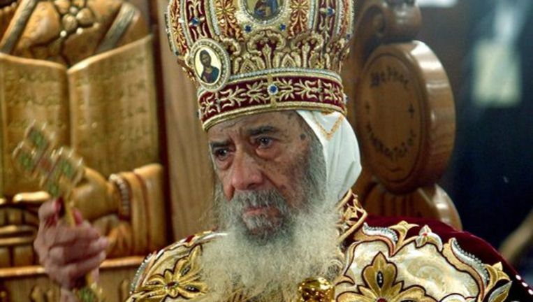 Paus Shenouda III. Foto EPA Beeld