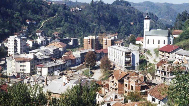 Sebrenica in maart 1997. Beeld reuters