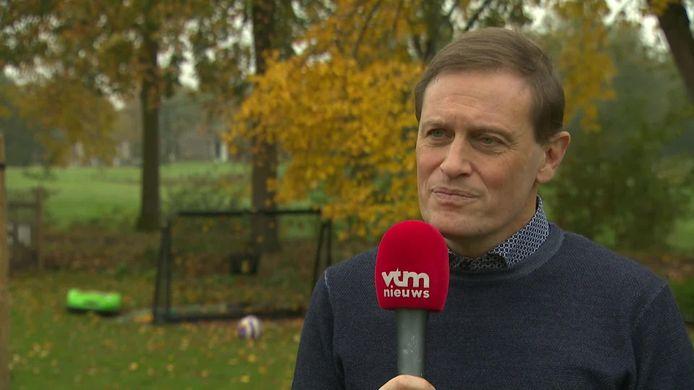 Karel Van Eetvelt, de CEO van Anderlecht.