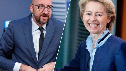 EU-leiders zijn eruit: Charles Michel wordt Europees president