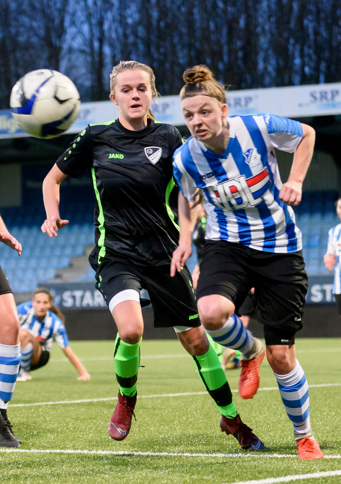 FC Eindhoven tijdens een eerdere wedstrijd.