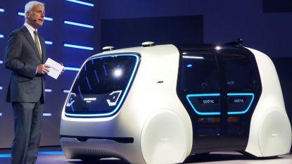 Volkswagen presenteert prototype zelfrijdende wagen