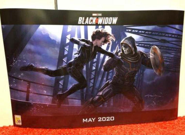 Een eerste concept-beeld van 'Black Widow'.