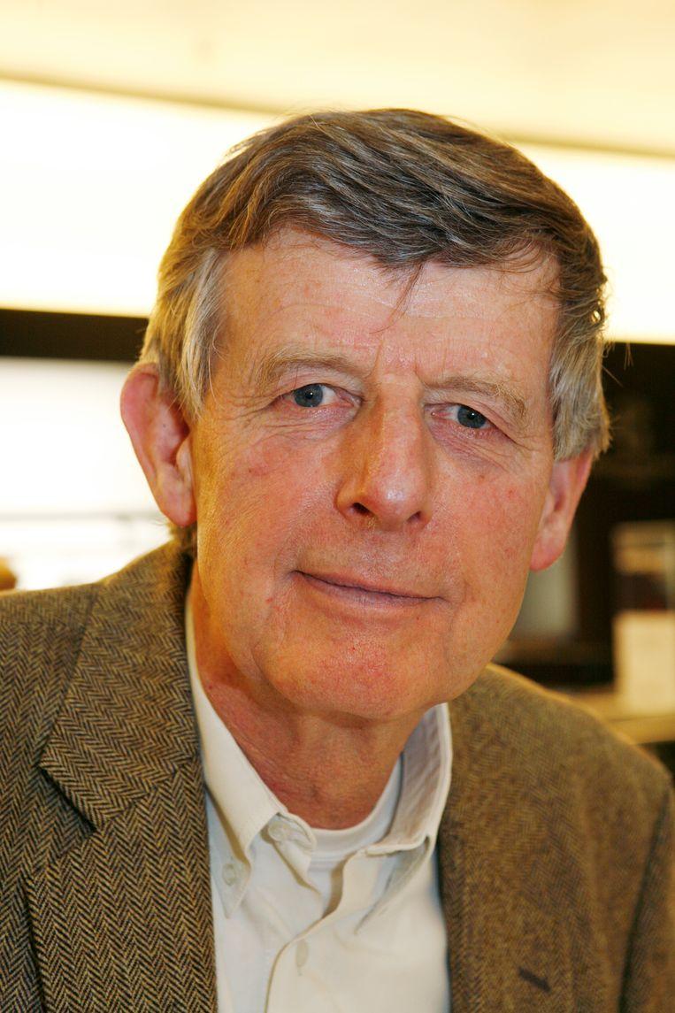 Emeritus hoogleraar  Fik Meijer, specialist oude geschiedenis. Beeld © Kippa