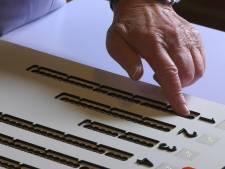 Blinden in Renkum stemmen voor het eerst zelfstandig