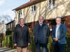 Reddingsplan voor Zweedse huizen in Halsteren, iconen van watersnoodramp