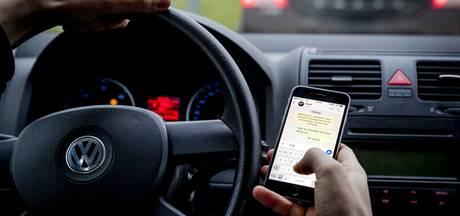 Een 'signaal' tegen appen in verkeer