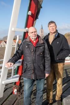 Kloetingse molen is weer in topconditie, maar mist nog een paar goede zeilen