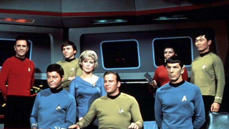 De cast uit de eerste Star Trek-serie Beeld Still