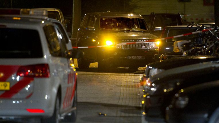 Gevolgen van de schietpartij in de Staatsliedenbuurt Beeld anp