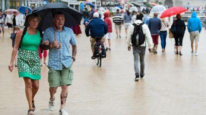 Zomer lijkt verdwenen: week begint zwaarbewolkt met kans op regen, ook volgende dagen buien mogelijk