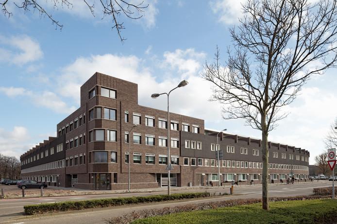 Het ontwerp van HILBERINKBOSCH architecten voor de kop van de Muntel aan de Citadellaan in Den Bosch.