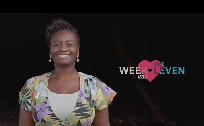 Een foto van een spotje voor de Week van het Leven, dat deze maand te zien is op televisie