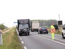 Motorrijder gewond bij botsing op N301 bij Nijkerk