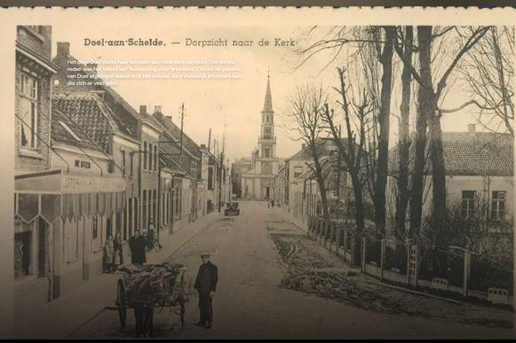 Bezoekers van de site kunnen ook doorklikken naar oude prentkaarten.