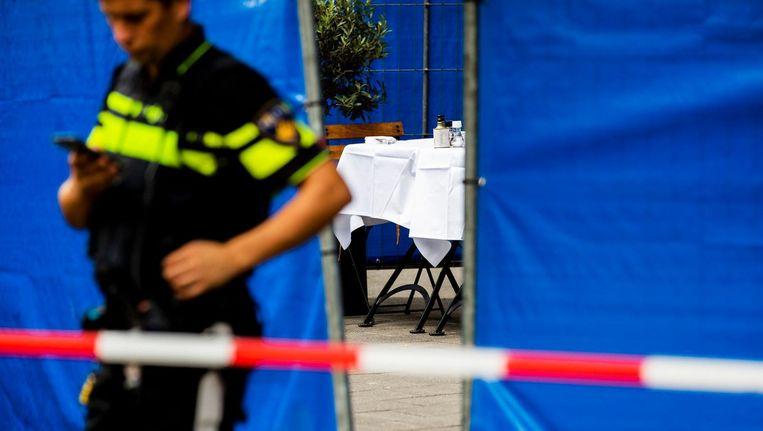 De Kroaat Ivan Serdarusic (62) werd vorige week geliquideerd in een restaurant in de Beethovenstraat. Beeld ANP