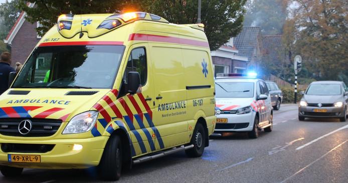 Fietsster raakt vrachtwagen in Ermelo