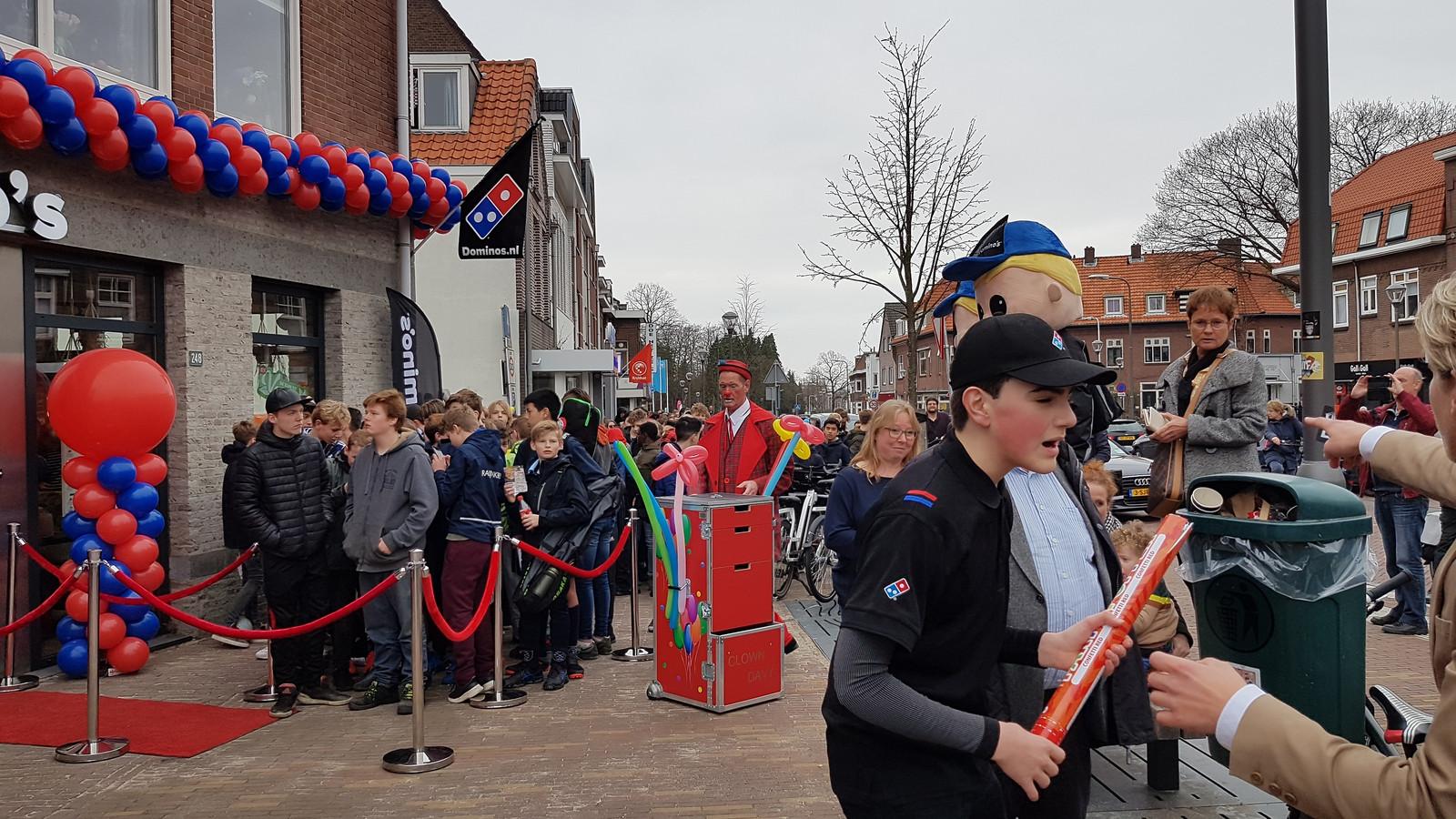 Het is druk bij de vierde Domino's vestiging in Nijmegen