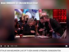 Arnhemse YouTuber Benjamin tevreden na award-actie bij DWDD: 'Missie geslaagd'