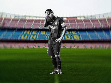"""Messi déprimé? Les images de l'Argentin """"solitaire"""" à l'entraînement du Barça"""