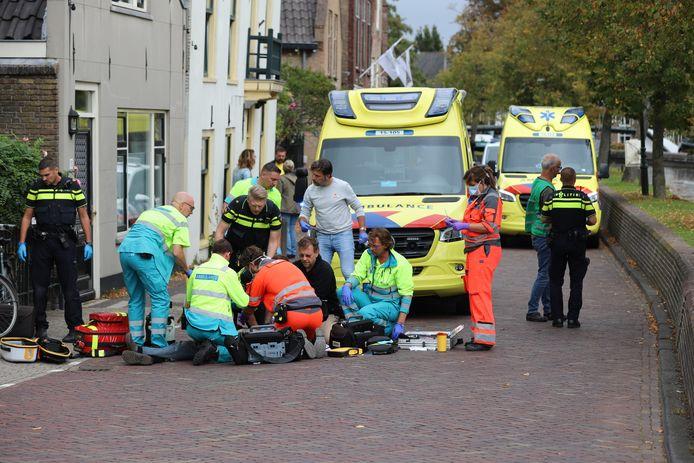 Omstanders schoten de man direct te hulp