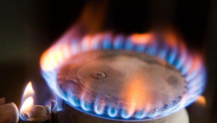 De vlam van een gaskachel. Beeld anp
