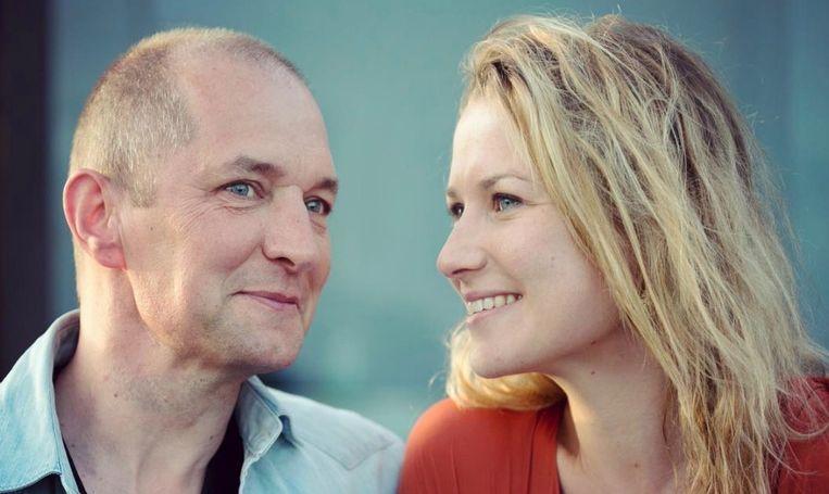 Karl Vannieuwkerke en zijn vriendin Caroline Vereenooghe