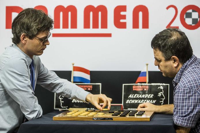 Roel Boomstra (links) en Alexander Schwarzman.