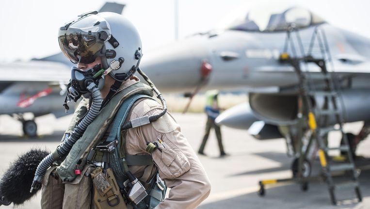 Vorige maand keerden ook al verschillende Belgische F-16's terug naar huis, na een missie tegen IS in Jordanië.