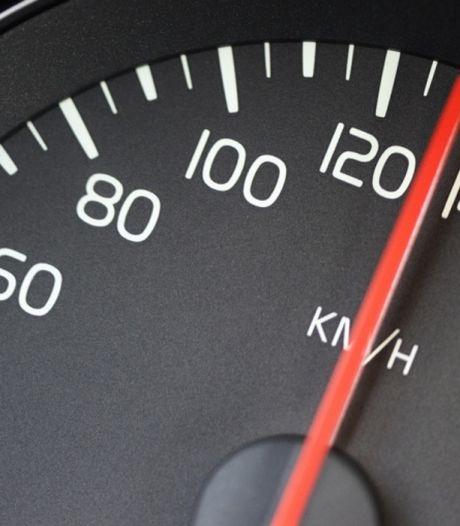 Bij deze snelheid kan een flitspaal je niet meer flitsen
