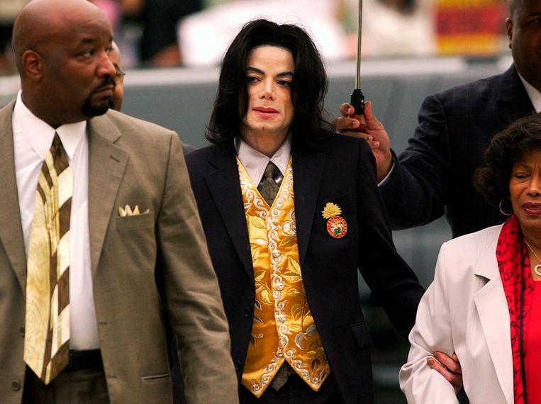 Michael Jackson in 2005.