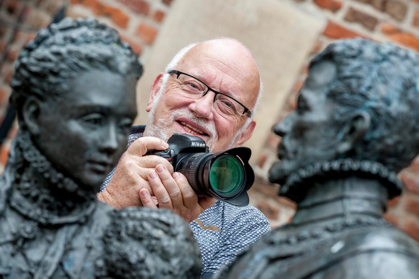 Evert Obdeijn, een van de initiatoefnemers van Kiek op Buren.