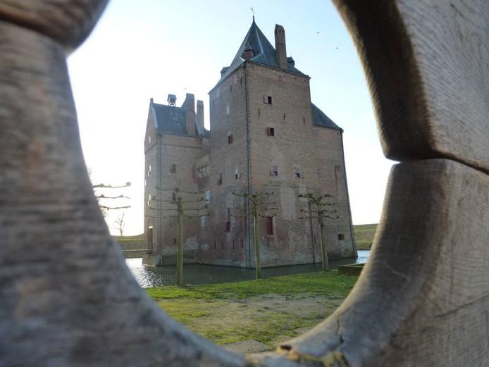 Slot Loevestein in Poederoijen.