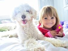 Huisdieren belangrijk voor welzijn van kinderen