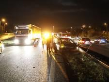 Negen voertuigen betrokken bij drie ongelukken op A28 bij Nunspeet