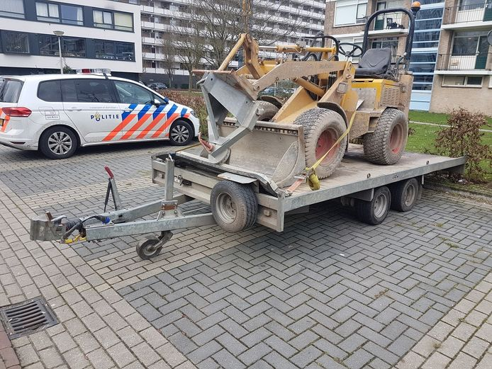 Wiellader teruggevonden in Nederland