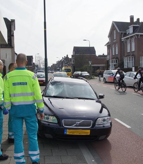 Fietsster geschept op de Gasthuisstraat in Kaatsheuvel