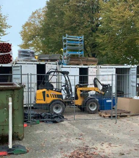 Inbrekers slaan toe op bouwdepot, meerdere containers leeggeroofd: 'Erg balen'