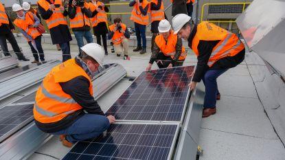 Zonnepanelenpark bij SABCA moet 554 ton CO2 uitsparen